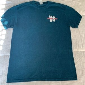Trader Joe's Crew T-shirt Teal 🌺 (M)